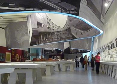 Maxxi / museum of contemporary arts in Rome / - Luigi Moretti architetto. Dal razionalismo all'informale