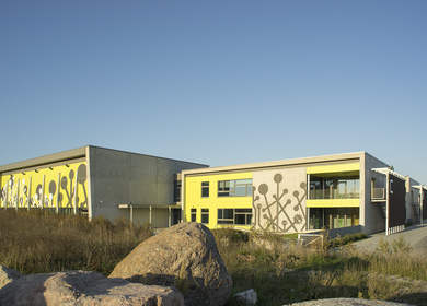Randvere, elementary school and sports hall