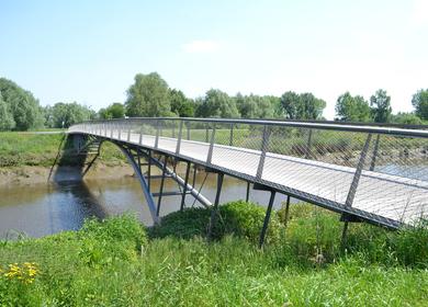 Fix and movable footbridges