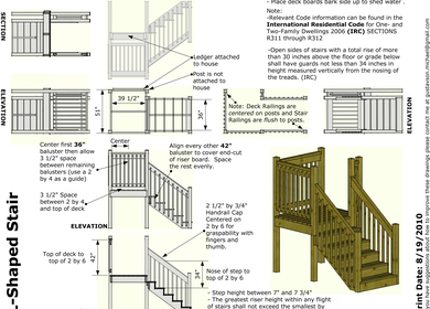 Stair Construction Guide for Bayou Area Habitat for Humanity, SketchUp8