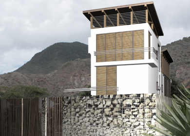 Bioclimatic House in Margarita Island