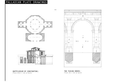 Palladian Plate Drawings