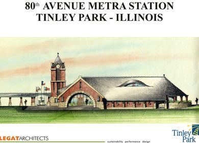 Tinley Park Metra Station