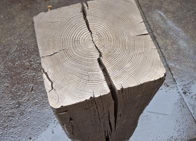 Bronze Timber Pedestal