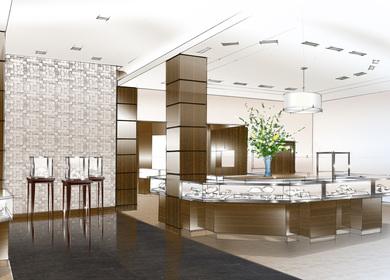 Tiffany & Co. Store in Redbank, NJ