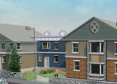 Habitat for Humanity Housing Community