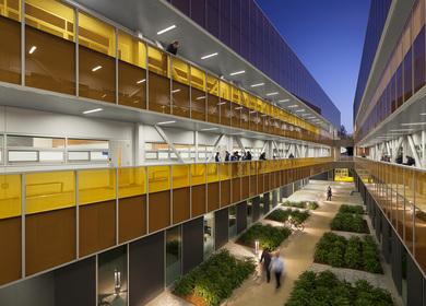 Orange Coast College Mathematics, Business and Computing Center Building