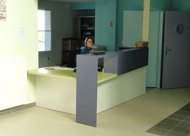 Reception Desk - Furniture Design, Healthcare Center
