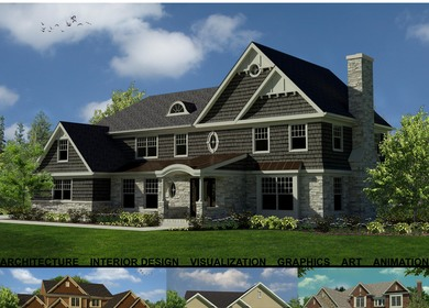 3d Visualization - Residential Rendering