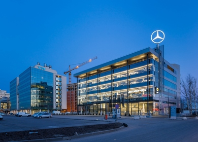 The «Mercedes-Benz» Dealership