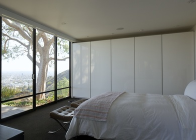 Wolff Residence in Hollywood Hills = Custom Millwork