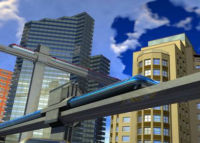 Boston Monorail Visualization