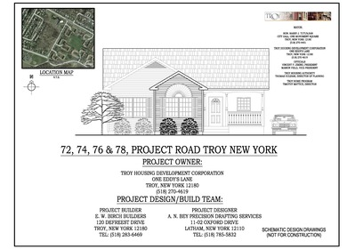 72, 74, 76 & 78 Project Road