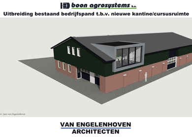 enlargement commercial building