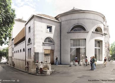 Kunz Architectes - Manege Geneve