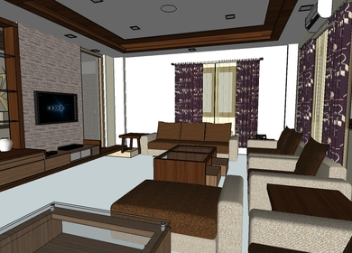 Interor design for Nayan chettri residence