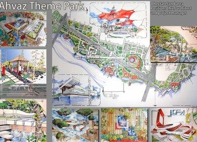 Ahvaz Theme Park- Gillgamesh