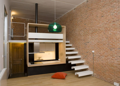 Loft Andrés Borrego. Madrid. Spain