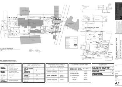 Mizrahi Residence / Garage Remodel and Addition