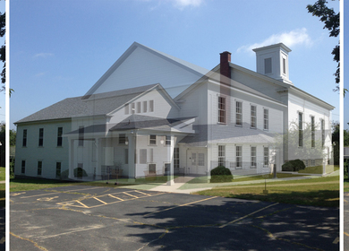 Amicable Congregational Church - Addition