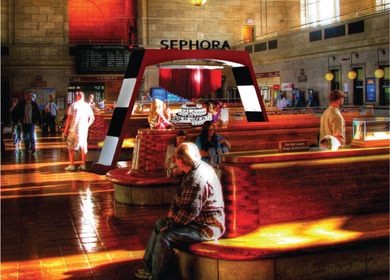 Retail Design: Sephora pop-up retail