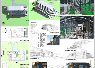 Redesign Raymond House (Competition) Conceptual Design