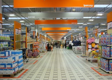 IPERCOOP IN-STORE IDENTITY