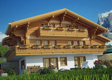Luxury Chalets, Grindelwald, Switzerland