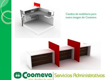 Furnishing re design for Coomeva oficces