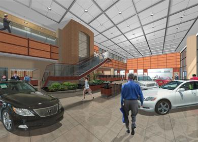 Keyes Lexus Interior Design