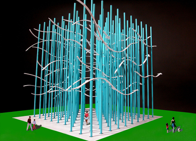 A Monument To The Flow OF Information In Our Digital Age