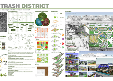 SMART TRASH DISTRICT: Extended Sustainable Urban Development of Downtown Savannah