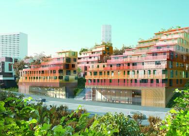 Apartments in La Duchère, Lyon
