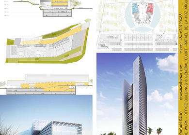 Projects developed at Rafael de la-Hoz architects