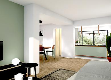 Interieurontwerp vrijstaand woonhuis