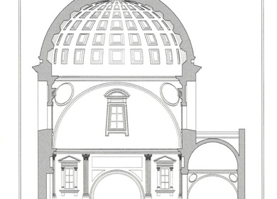 2004-Research - Medici Chapel Section