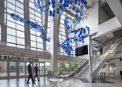 "Art Consulting at Golden 1 Center, ""Multitudes Converge"""