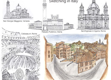 Sketching in Italy