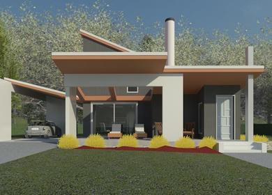 Modern Pairie Cottage