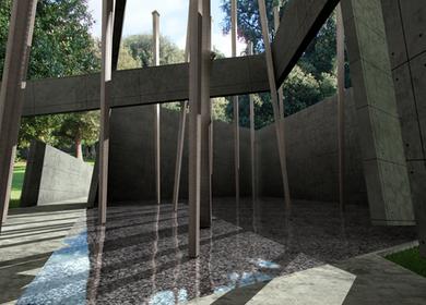 Sensory space of Fausto Ferrara's and Pino Barillà