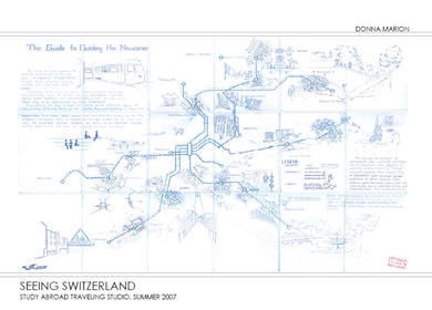 Seeing Switzerland - Hand Drawings