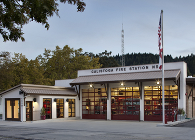 Calistoga Fire Station No. 1