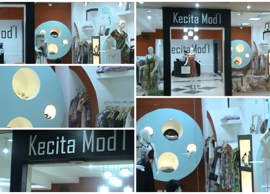 Commercial Retail Design and Project Management -Kecita Mod'l- 262.4 sq ft