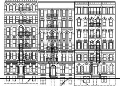 50-54-58 East 3rd Street, New York, Ny