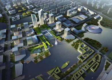 Liyang South New City Master Plan