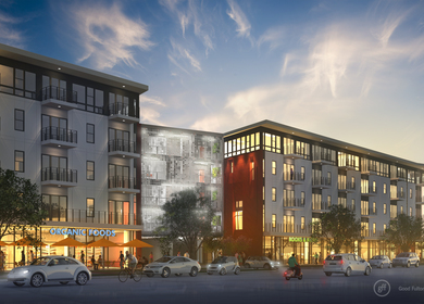 Burnet Marketplace Mixed Use