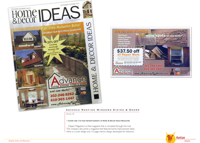 Advance Home and Decor Ads