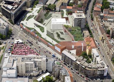 Badel Block - Redistribution of the Urban Block