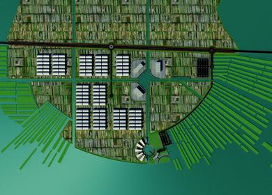 Centro Urbano Agricola para el Valle de Chalco (Urban Agricultural Town center)