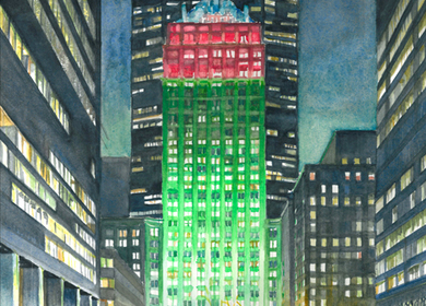 Helmsley Building in December, Park Avenue, New York